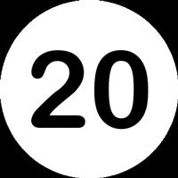 """Icon """"Über 20 Jahre Erfahrung"""""""